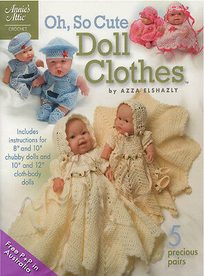 NEW Oh, So Cute Doll Clothes by Azza Elshazly