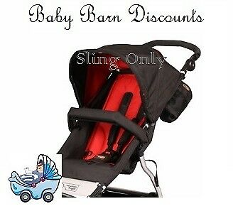Mountain Buggy - Replacement seat fabric / Sling - Swift - Chilli