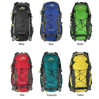 40L Camping Hiking Bag Sports Backpack Mountaineering Climbing Knapsack G2I3