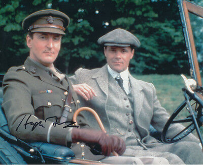 Hugh Fraser In Person Signed Photo - A704 - Poirot