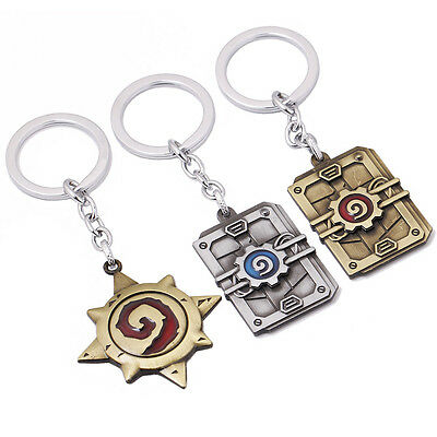 Hearthstone World of Warcraft Keychain - Various Designs - UK Seller