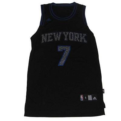 New NBA New York Knicks Carmelo Anthony  7 Swingman Jersey Black XL Swingman 21d669cae
