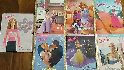 Barbie golden books: The Best of Barbie Boxed Set 6 Hardcover