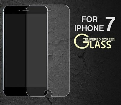 Genuine Tempered Glass Film Screen Protector For Apple Iphone 7 New