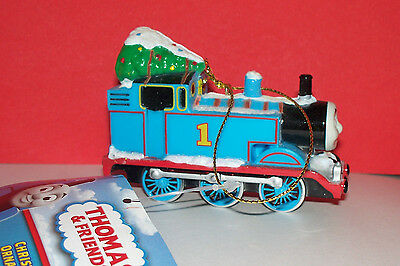 THOMAS the TANK ENGINE TRAIN & FRIENDS CHRISTMAS ORNAMENT NEW