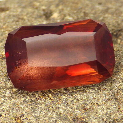 RED SCHILLER OREGON SUNSTONE 19.51Ct FLAWLESS-LARGE-FROM PANA MINE-INVESTMENT!