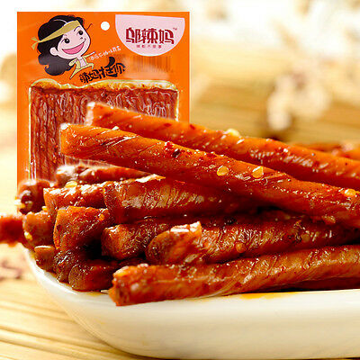 Delicious Chinese Food Bean Curd Bars Spicy Strips Recreational Snack Hot 80g