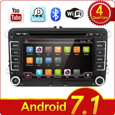 Quad Cord Android Autoradio GPS NAVI DVD Player WIFI for VW Jetta Passat Polo