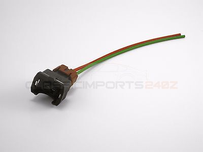 fuel injector wiring harness connector for nissan 300zx z31 1984-1987 n/a  turbo