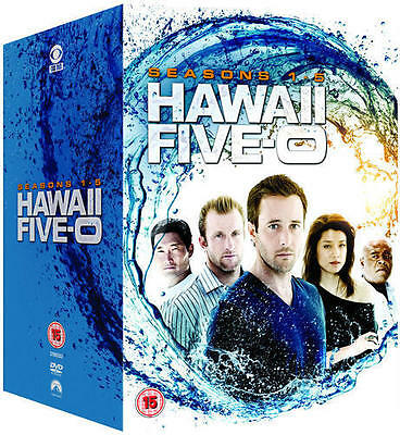 "Hawaii Five-O Complete Season 1-5 Collection Dvd Box Set 31 Discs R4 ""New"""