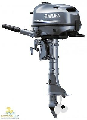 NEW YAMAHA F4BMHS 4 Four Stroke Outboard Motor - Boat Engine F 4 HP - 4hp Short