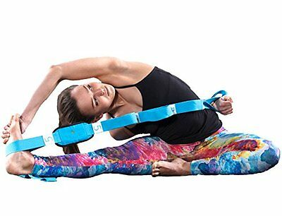 Limber Stretch Advanced Yoga Flexibility Strap for Workout & Physical Therapy