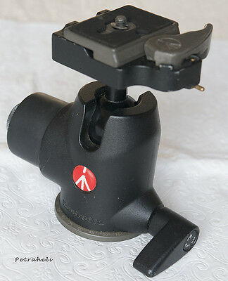 Manfrotto 468MGRC2 Hydrostatic Ball Head with Quick Release Plate