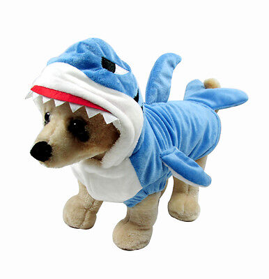 Shark Dog Costume Fancy Dress Halloween