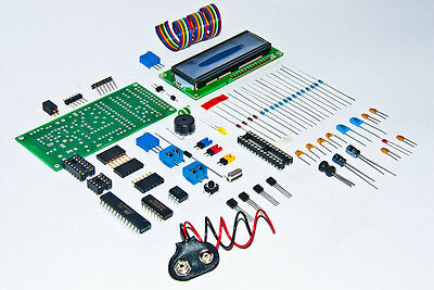 Arduino IDE compatible DIY kit Geiger nuclear radiation counter /w LCD