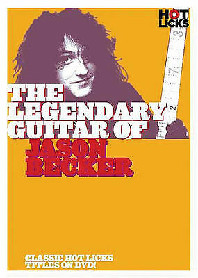 Jason Becker - Cacophony Hot Licks Guitar *new* Dvd
