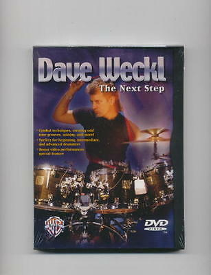 Dave Weckl - The Next Step Drum Lesson New Dvd