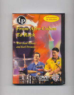 Afro-Cuban Rhythms - Congas - Timbales - Drum Dvd -New