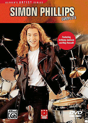 Simon Phillips - Complete New Drum Drums Dvd