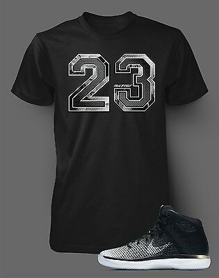 "Tee Shirt to match AIR JORDAN 31 ""FINE PRINT Mens Black Short Sleeve Pro Club"