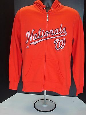Washington Nationals Womens Majestic Red Hoodie - NWT! FREE SHIPPING!