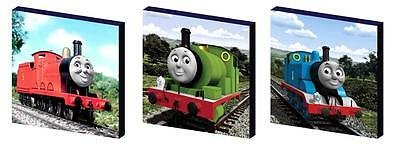 Thomas The Tank Engine Characters Art Blocks/ Wall Art Plaques/pictures