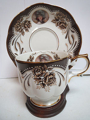 Avon 1999 Mrs P. F. E. Albee Honor Society Cup And Saucer