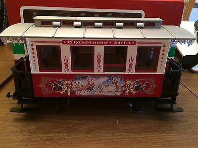 LGB 35080 Christmas 2013 Annual Passenger Coach New in Box!