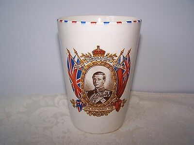 British Royalty King Edward Viii Coronation Beaker May 12Th, 1937