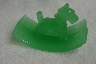 Scotty Scottie Dog Green Glass Blotter