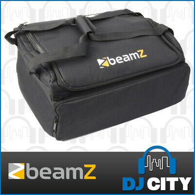 Beamz AC-417 Lighting Effect Carry Bag DJ Equipment 2 Compartment Soft Case