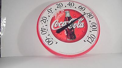 Old Coca-Cola Coke Soda  Large Thermometer Sign Old Works Pop Collectors Rare