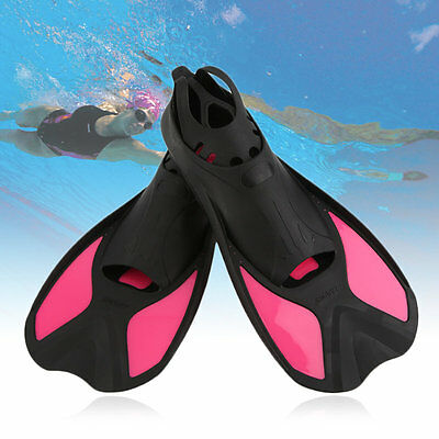 Snorkeling Fins Diving Flippers Swimming Short Flippers S-XL AU