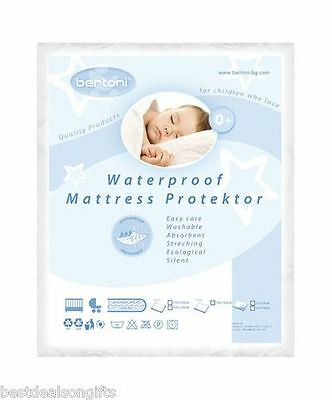 Waterproof Baby Cot Mattress Protector Washable Cover 50/35cm