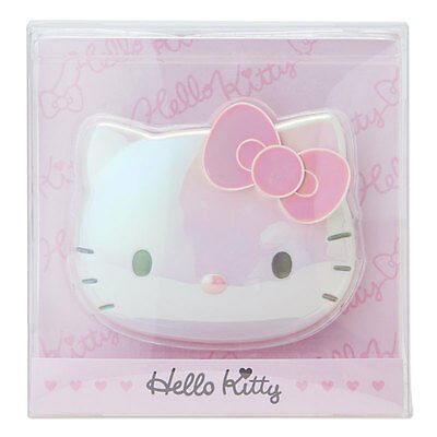 Hello Kitty Face Handle Double Mirror Adult cute pink ❤ Sanrio Japan