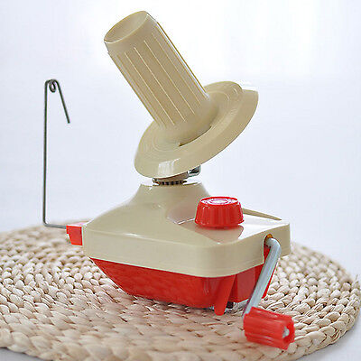 Hand-Operated Knitting Arts Crafts String Yarn Fiber Wool Ball Winder Machine
