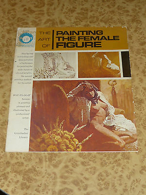 The Art of Painting Female Nude Retro 70s Grumbacher Library Instruction Book