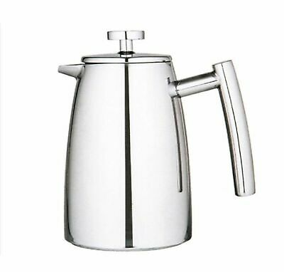 NEW AVANTI 8 CUP INSULATED COFFEE PLUNGER 1 Litre French Press Stainless Steel