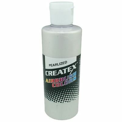 CREATEX Pearlized Pearl WHITE Airbrushing Airbrush Paint 2 oz Bottle 5310