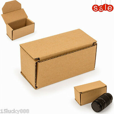 NEW 25 Packing Shipping Boxes 6x3x3 Small, Packaging Mailing Moving, Cardboard