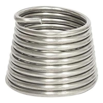 """Jack Richeson Armature Wire 1/4""""(.25) 10 10Ft Silver Craft New"""