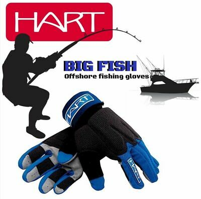 "Hart Hi Performance Offshore Boat Fishing Gloves ""big Fish"""