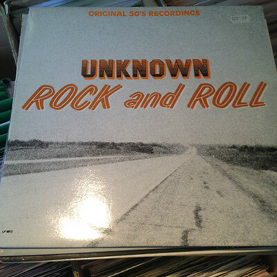 Rare Rockabilly LP - UNKNOWN ROCK & ROLL Jesse Stevens,Avrill Meers White Label