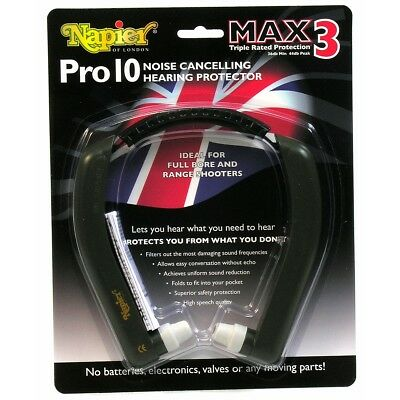 Napier pro 10 Hearing protection - ear plugs muffs max 3