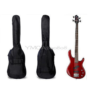 """Double Straps Padded Electric Bass Guitar Gig Bag Soft Case Backpack 40"""" 41"""""""