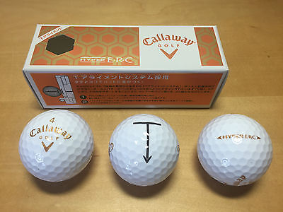 New - 3x Golf Ball CALLAWAY Golf - Hyper E·R·C - Nuevas