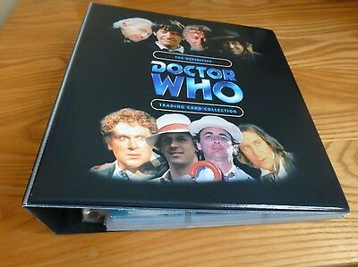 Doctor Who Def Series 1 Mini Master Set in Binder (Box/Case Toppers/Chase/Base)
