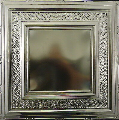 #106 Tin Ceiling Tile, Nailup, Unfinished, Authentic Antique Metal Ceiling Tile