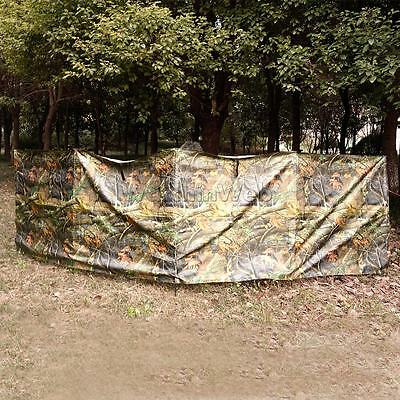 Portable Camouflage Military Ground Blind Hide Fold Up Shooting Hunting Camo