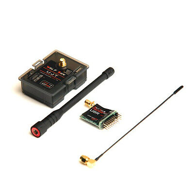Wolfbox 1000mW 1W 433MHz UHF Transmitter Tx & 100mW Receiver Rx Compatible with